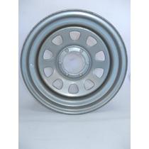 Roda Hilux Daytona Cinza/prata 16x7 6 Furos Offset-12 (10.5)