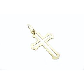 Pingente Cruz Ouro 18k - P347