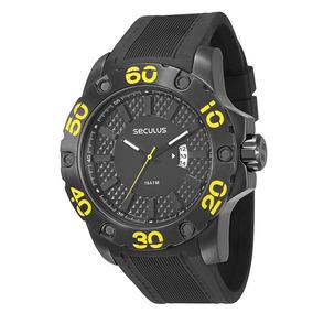Relógio Seculus Masculino 28390gpsbpu1 Original Loja Fisica