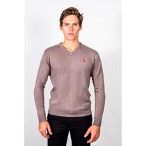 Sweater Hpc Polo Gris