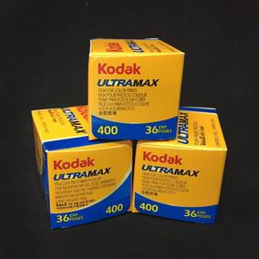 Rollo 35mm Kodak Ultra Max Color Película 400 Asa Feb. 2018