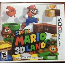 Juegos Nintendo 3ds Mario Land- Vario Precios Desde $149
