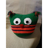 Almohadon Buho Crochet Amigurumi El Cristal Encantado
