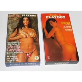 Fitas Vhs - Coleção Playboy E Sexy-sheyla Carvalho E Outras