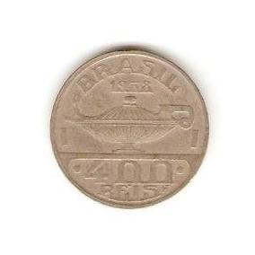 Moeda 400 Réis De 1938