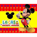 Kit Imprimible Para Tu Fiesta De La!d Casa De Mickey Mouse