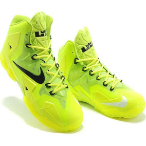 Tênis Nike Lebron 11 Xl James Neon Elite C/caixa F/grátis