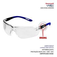 Óculos De Proteção Epi Segurança Uvex Inout Gx Antiembaçante
