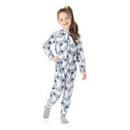 Pijama Infantil Menina Macacão Soft Longo De Inverno