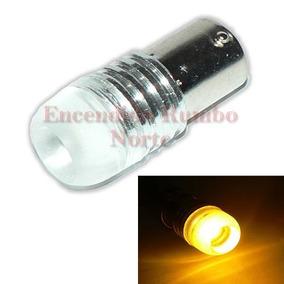 Lámpara Luz De Giro Led Cob G9 Ámbar / Amarillo 12v 1 Polo