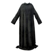Cobertor Com Mangas Preto 1,60 X 1,30 Cm 03335
