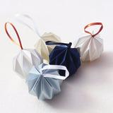 Bola Origami Decoración Navideña 6cm Diám.