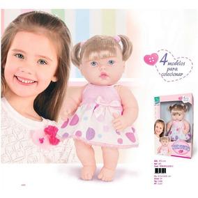Boneca Neneca Com Cabelo Super Toys