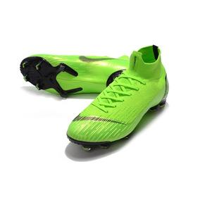 Chuteira Nike Mercurial Superfly Fg Verde - Chuteiras Verde no ... df929ef263d96