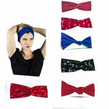 Kit Com 2 Turbantes Faixa Headband Cabelo Feminino Oferta