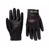 Luva Harley Davidson- Dedo Curto Ou Dedo Longo Todos Os Tam.