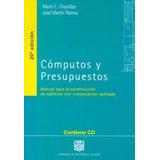 Computos Y Presupuestos - Chadias / Ramos - Ed. Alsina