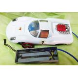 Juguete Antiguo Auto Porsche Rullero Control Remoto No Chapa