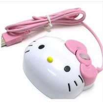 Mouse Ótico Hello Kitty Para Pc E Portátil - 1200 Dpi Barato