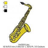 Instrumentos Musicais E Bandas Para Bordar Formato Pes Jef