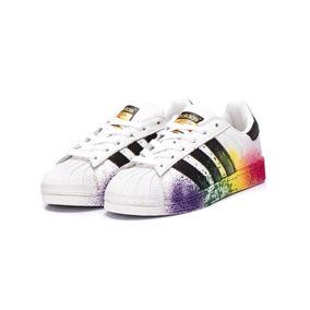 03c9db38730 Tênis adidas Originals Star Foundation - Branco Manchado
