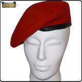 Boina Militar Francesa Vermelha Colégio Militar (td Tamanho