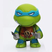 Boneco Minifigure Tartarugas Ninja Leonardo 7cm