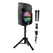 Parlante Spica Bluetooth Microfono Karaoke Tripode Portátil