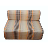 Sofa Cama (sillon Cama) 1 Plaza Con Cierre 0,65cm Ancho