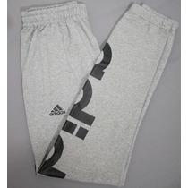 Pans Hombres A La Moda Baggy Adidas Gris Gym