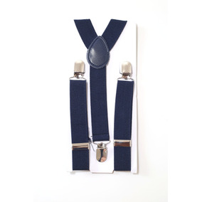 Suspensório Infantil Elástico Azul Marinho