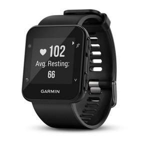 Relógio Esportivo Garmin Forerunner 35 Preto Com Medição