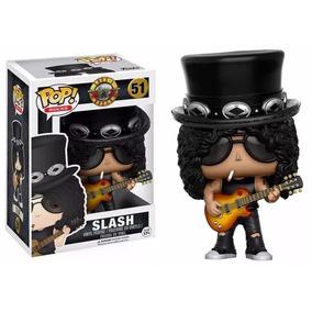 Boneco Funko Pop Guns N Roses - Slash - Novo !