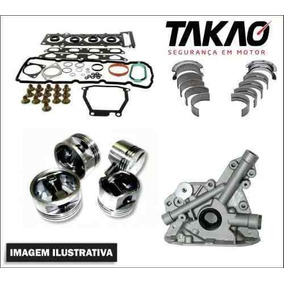 Kit Motor 050 Pistao Anel Junta Gm Corsa 1.0l 8v L4 Sohc Mpf
