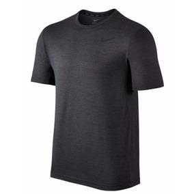 Playera Nike Dri-fit Heathered Gym Running Correr Gimnasio