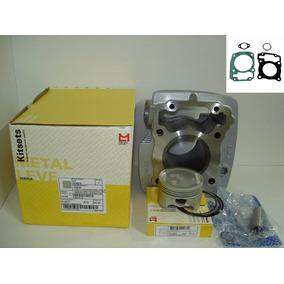 Kit Motor Titan 150 E Nxr150 2006 A 2013 Metal Leve + Juntas