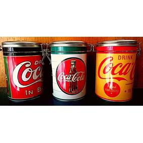 Set De Latas Coca-cola X 3 Unidades.
