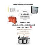Transformador Trifasico 10kva Estock Envios Directos