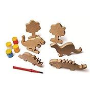 Brinquedo Familia Dinossauro - Alegria Sem Bateria