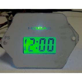 Fusca - Relogio De Horas Digital P/ Painel C/ Led Neon