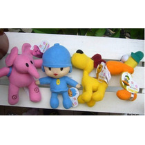 Bandai 4 Figuras Pocoyo, Lula, Pato Y Eli