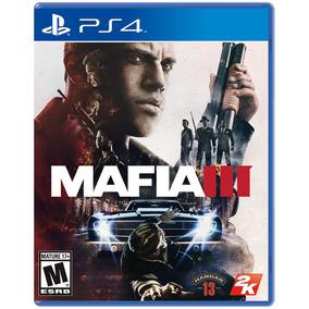Juego Ps4 Mafia 3 (físico)