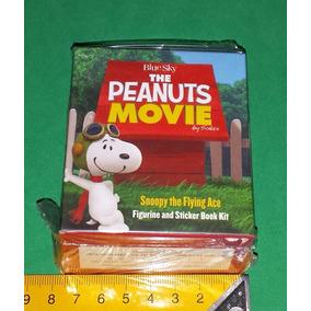 Snoopy Flying Ace Miniatura Peanuts Barão Vermelho Do Filme