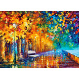 Way To Home - Pintura Al Óleo Por Leonid Afremov