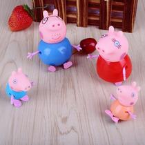 Família Peppa Pig - Promoção 4 Bonecos