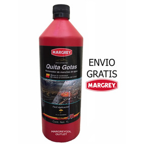 Quita Gotas 1lt Limpia Mancha Vidrio (enviogratis) Margrey