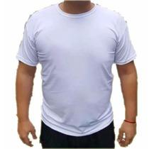 Remera Modal Para Sublimar Talles Especiales Grandes Blanco