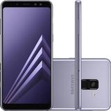 Smartphone Samsung Galaxy A8 Plus 6 64gb 16mp Ametista