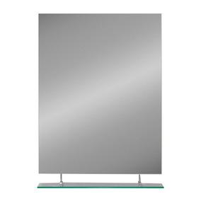 Espejo Biselado Con Repisa 60x45cm