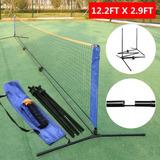 12ft20ft Portable Playa Tenis Voleibol Pickleball... (12ft)